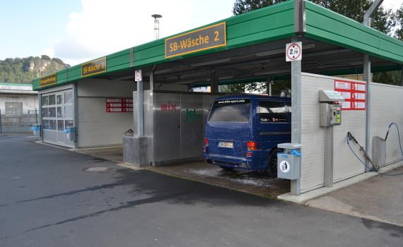 SB-Waschboxen